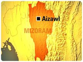 3 policemen killed in militants' firing on convoy in Mizoram
